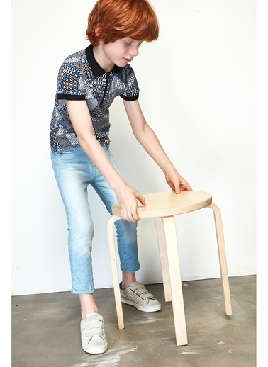 B&G Store Erkek Çocuk Jean Pantolon 19SS1NB3209 Mavi